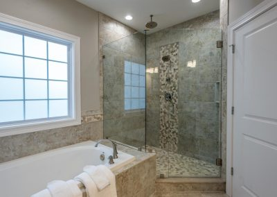 Franklin Plan Master Custom Tile Shower
